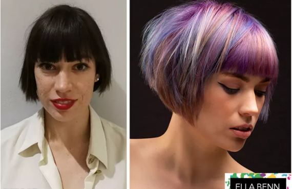 Ella takes the winning title at Redken Own it Awards