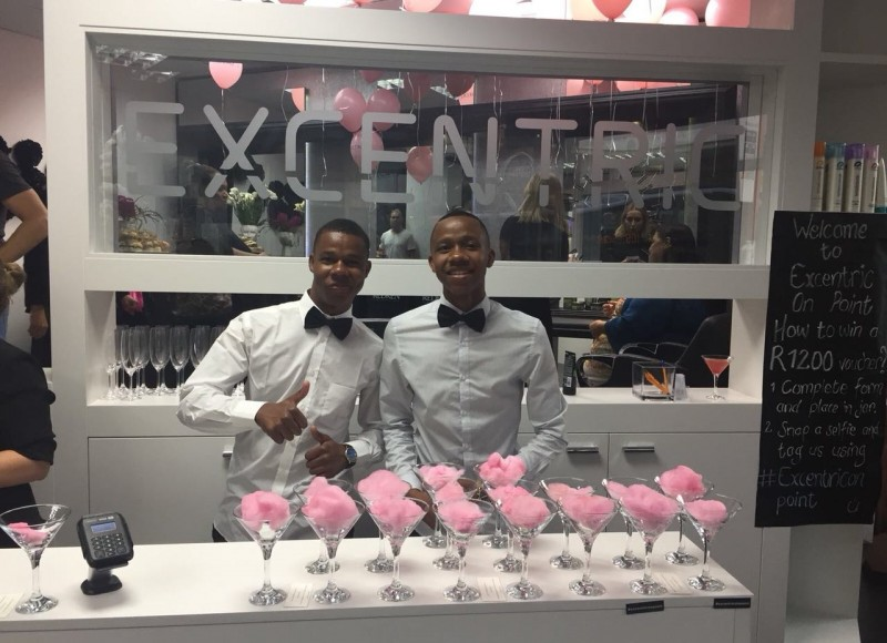 Our awesome bartenders ready to serve you even more awesome cocktails