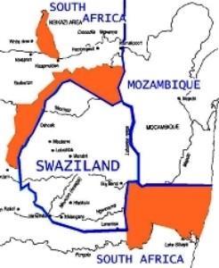 swaziland claims sa land