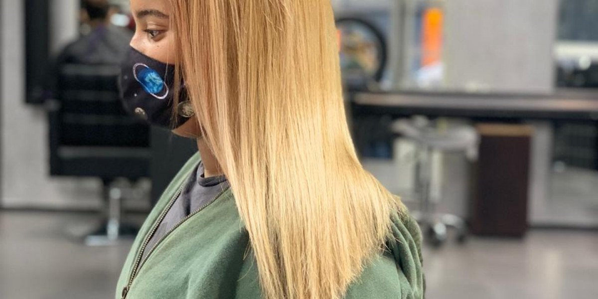 Evolution Keratin Smoothing Treatment on Blonde hair