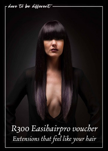 Hair extensions-Complimentary consult, color match,  FREE R 300 off first set, sampler kit, R100 off Easihairpro home care purchase!