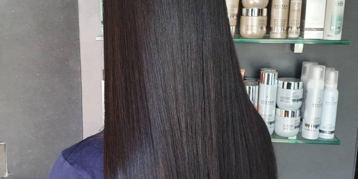 Evolution Keratin Smoothing Treatment on Long natural hair
