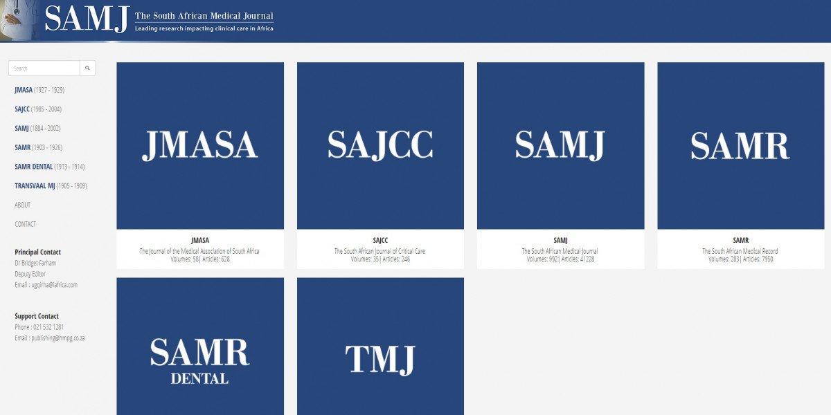 SAMJ Archive