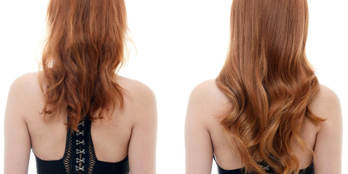Before and After hair Easihairpro