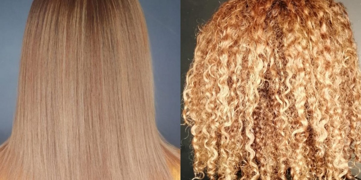 Evolution on naturally curly hair