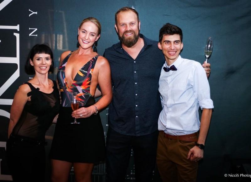 Leandi, Kim, Johan and Flo